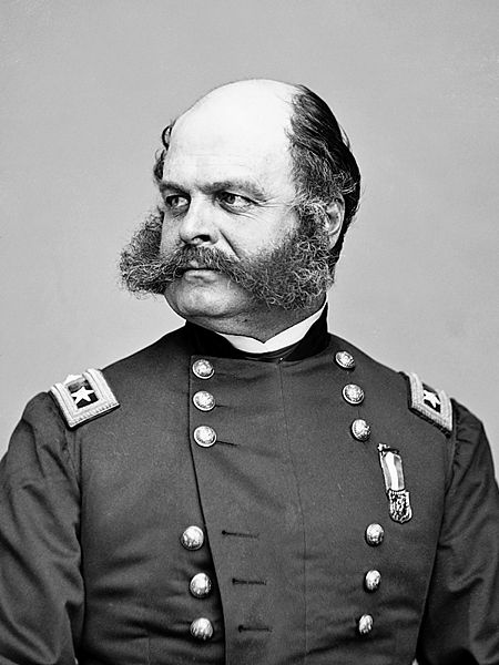 Major General Ambrose Everett Burnside